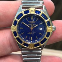 Breitling Lady J Gold/Steel 31mm Blue No numerals United States of America, New York, Scarsdale