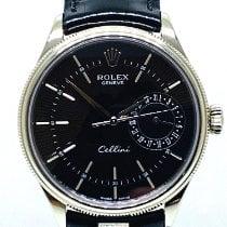 Rolex Белое золото Механические подержанные Cellini Date