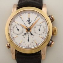 Girard Perregaux Ferrari 9015 Limitiert Split Second pink rose red Gold 1995 usados