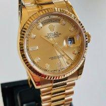 Rolex Day-Date 36 Žluté zlato 36mm Šampaňská barva Česko, Praha 1