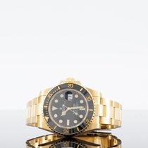 Rolex Submariner Date Yellow gold 40mm Black No numerals UAE, dubai