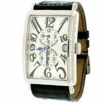 Franck Muller Master Banker White gold 32mm Silver Arabic numerals United States of America, New York, New York