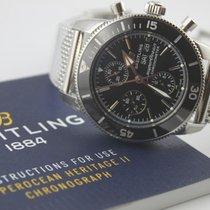 Breitling Superocean Héritage II Chronographe Stahl 44mm Schwarz Deutschland, Augsburg