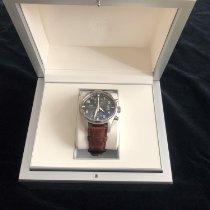 IWC Fliegeruhr Spitfire Chronograph Stahl 43mm Grau Arabisch Deutschland, Kronberg