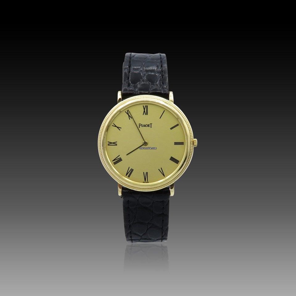 Piaget Extraplate Mécanique Or jaune 18k 32 mm