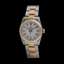 Rolex Oyster Perpetual 31 Gold/Steel 31mm White Roman numerals