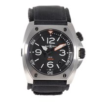 Bell & Ross BR 02 Steel 44mm Black