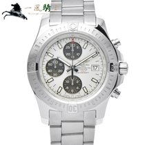 Breitling Colt Chronograph Automatic pre-owned 44mm White Steel