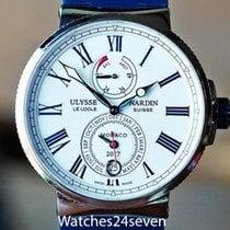 Ulysse Nardin Marine Chronometer 43mm Steel White Roman numerals