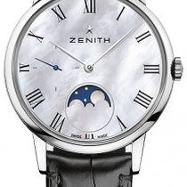 Zenith 03.2320.692/81.C714 Steel 2020 Elite Ultra Thin 36mm new United States of America, Florida, Sunny Isles Beach