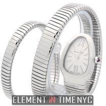 Bulgari Serpenti Steel 23mm Silver Roman numerals United States of America, New York, New York