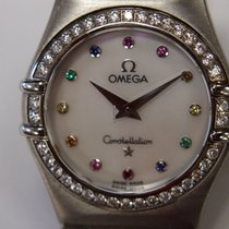 Omega Constellation Steel 22.5mm Mother of pearl No numerals