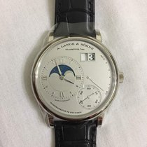 A. Lange & Söhne Grande Lange One Moon Phase Platinum NEW