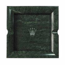 Rolex Square Ashtray Green Marble