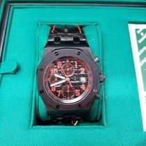 Audemars Piguet Royal Oak Offshore Chronograph nouveau 2010 Remontage automatique Chronographe Montre avec coffret d'origine et papiers d'origine 26186SN.OO.D101CR.01