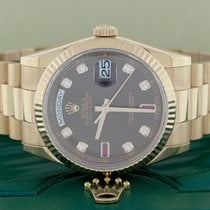 Rolex President Day-Date Everose 36mm Factory Chocolate...