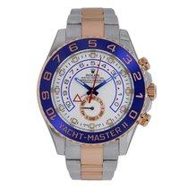 Rolex YACHT-MASTER II 44mm Steel & 18K Rose Gold Watch 116681