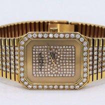 Patek Philippe Very Rare 18k Yellow Gold Factory Diamonds Dial...