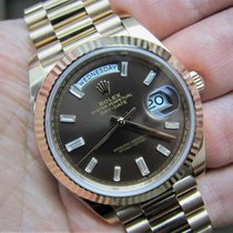 Rolex 40mm Automatic 2015 new Day-Date 40 Brown