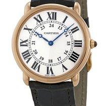 Cartier Ronde Louis Cartier Новые Pозовое золото 36mm Механические