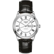 Longines L4.899.4.21.2 Steel Flagship 38,5mm