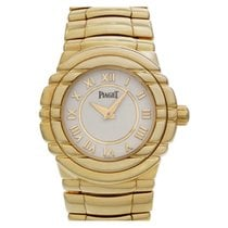 Piaget Tanagra Yellow gold 25mm Champagne Roman numerals United States of America, Florida, Surfside
