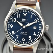 IWC Pilot Mark Le Petit Prince Mark XVIII SS Midnight Blue Dial
