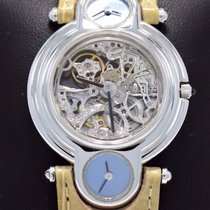 DeLaneau Or blanc 33mm Remontage automatique occasion