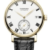Chopard Yellow gold Automatic White new Classic