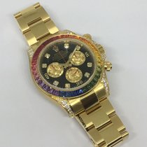 Rolex 116598 RBOW Yellow gold Daytona 40mm pre-owned