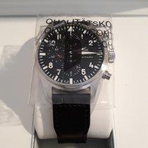 IWC Pilot Chronograph nuovo 2019 Automatico Cronografo Orologio con scatola e documenti originali IW377709