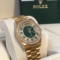 Rolex Yellow gold Automatic Gold Arabic numerals 36mm new Day-Date 36