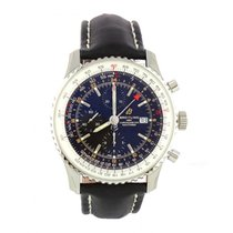 Breitling Steel Automatic Black 46mm new Navitimer