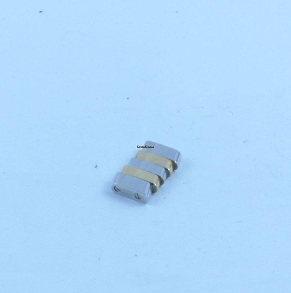 BREITLING ERSATZGLIED GLIED LINK 20MM 357D STAHL//GOLD EVOLUTION