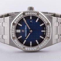Audemars Piguet Royal Oak Lady Titanium 33mm Blue No numerals United States of America, Florida, Aventura