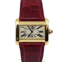 Cartier Tank Divan Yellow gold 31mm White Roman numerals United States of America, New York, New York