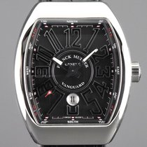 Franck Muller Vanguard Steel 45mm Black Arabic numerals