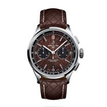 Breitling for Bentley Stal 42mm Brązowy