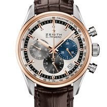 Zenith El Primero Chronomaster Gold/Steel 38mm Grey No numerals United States of America, Florida, Sunny Isles Beach