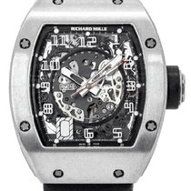 Richard Mille Titanium 40mm Automatic RM 010 AH Ti pre-owned
