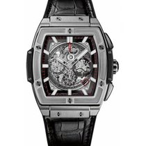 Hublot Spirit of Big Bang 601.NX.0173.LR Yeni Titanyum 45mm Otomatik