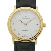 Blancpain Villeret Ultra-Slim Yellow gold 34mm White Roman numerals United States of America, New York, New York