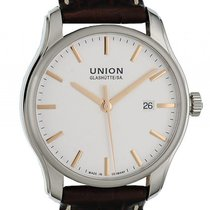 Union Glashütte Viro Date Steel 41mm Silver