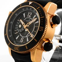 Jaeger-LeCoultre Master Compressor Diving Pro Geographic Rose gold 46.3mm Black