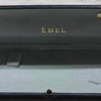 Ebel rare vintage watch box leather blu for gold models mens