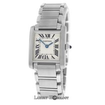 Cartier Tank Francaise 2384 Stainless Steel 20MM