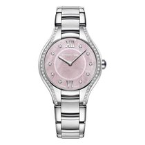 Raymond Weil Noemia Pink MOP Dial With Diamonds Women's...