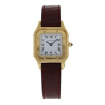 Cartier Santos Dumont 1576 Mechanical 18k Yellow Gold
