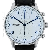 IWC stainless steel Portuguese Chronograph