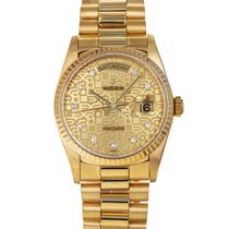 Rolex 18238 Yellow gold 1991 Day-Date 36 36mm pre-owned United States of America, Maryland, Towson, MD